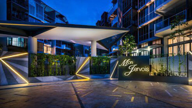 Mon Jervois, Luxury Home Singapore