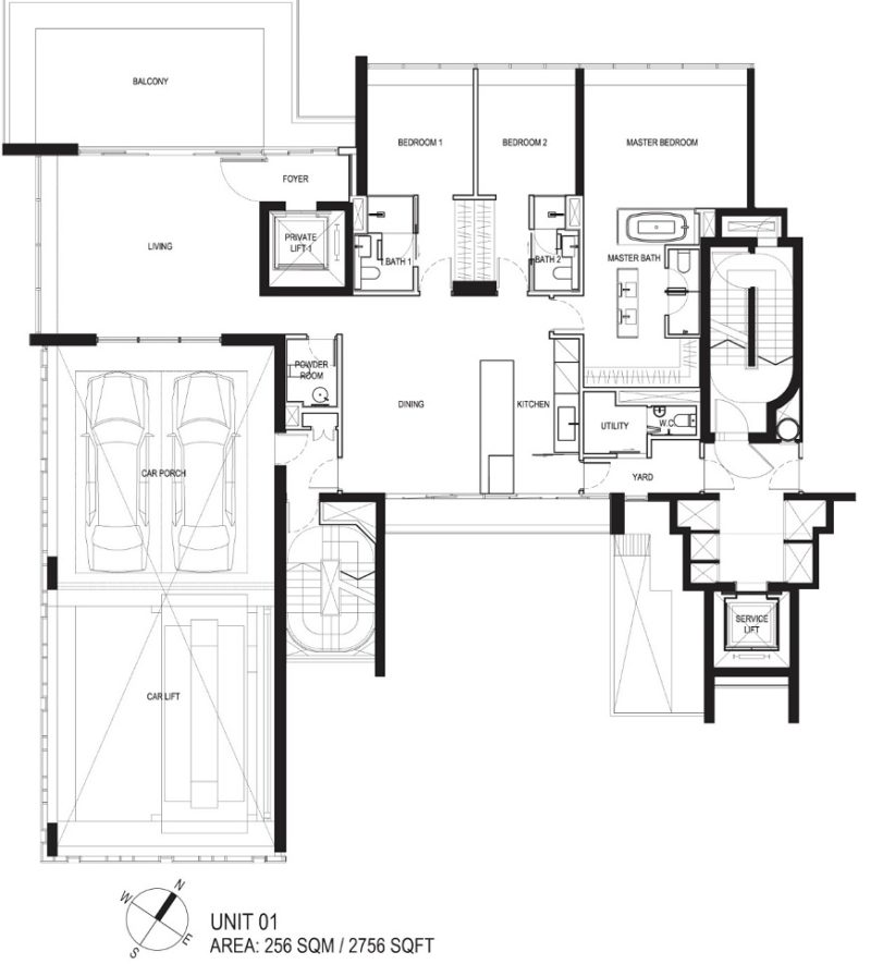 Reignwood Hamilton Scotts Apartment Map