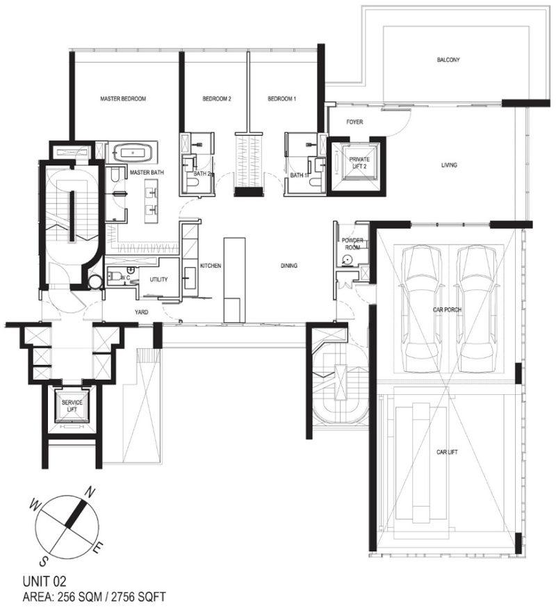 Reignwood Hamilton Scotts Apartment Map
